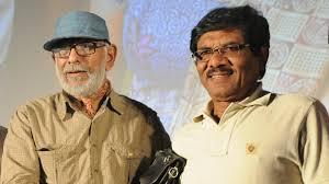 Balu Mahendra with Bharatiraaja